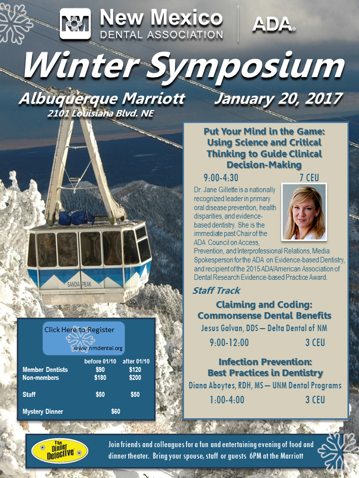 Winter Symposium flyer